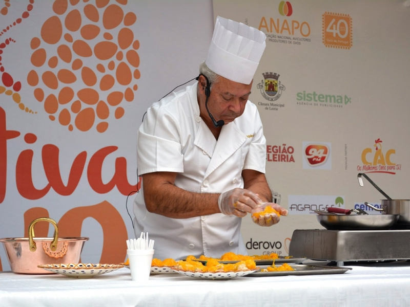 Showcookings festival do ovo