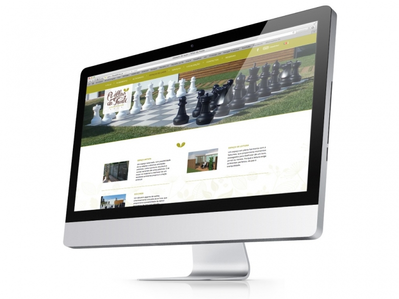 website villas da fonte